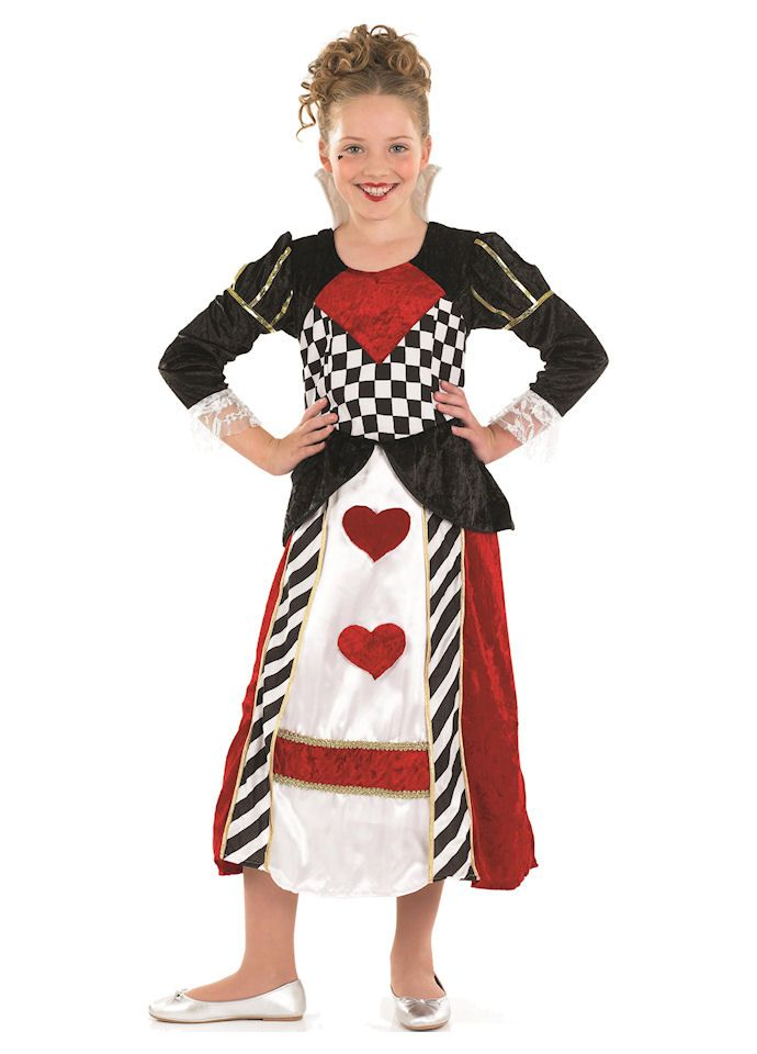 f5c1ff2ac Queen Of Hearts Girl childrens dress up costume by Fun Shack | Fun ...
