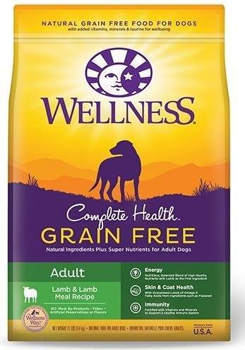 Wellness Grain Free Complete Health Adult Lamb Lamb Meal Recipe Dry Dog Food Natural Pet Food Dog Food Recipes Dry Dog Food