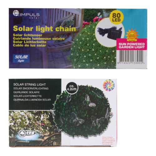 solar snoer verlichting action 4,50€ | Front and back yard projects ...