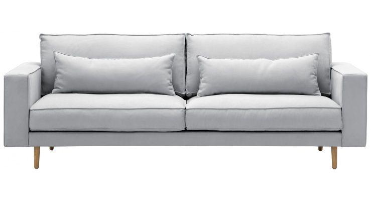 3 Sitzer Sofa Lacona Stoff Dona Grau Sofa Designer Couch Sofas