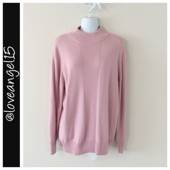 Light Pink Sweater Item name- Light Pink Sweater Size- No size tag ...