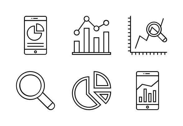 Data Analytics Icons By Graphic Mall Data Analytics Data Analytics