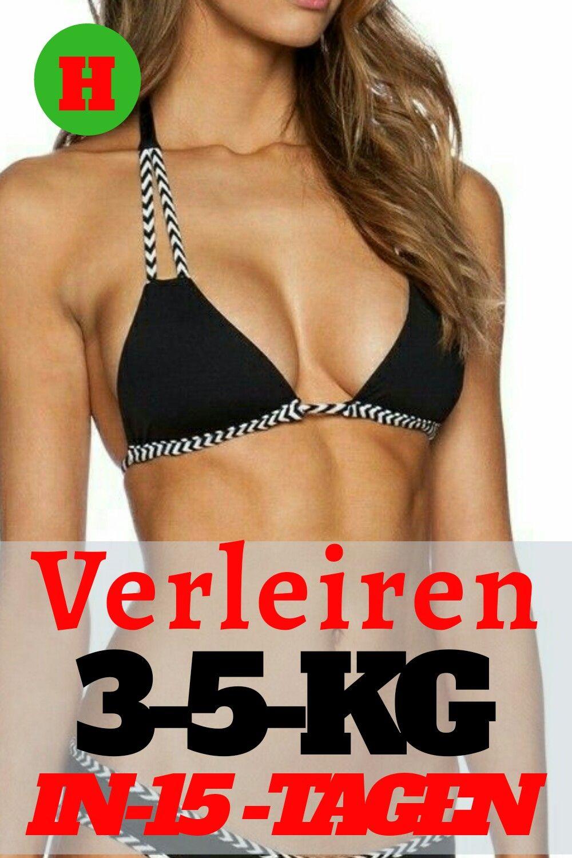 3 Tage die Woche Training, um schnell Gewicht zu verlieren