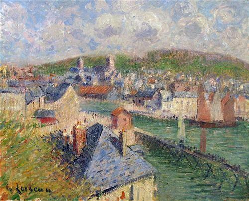 L'Avant Port De Fecamp - Gustave Loiseau