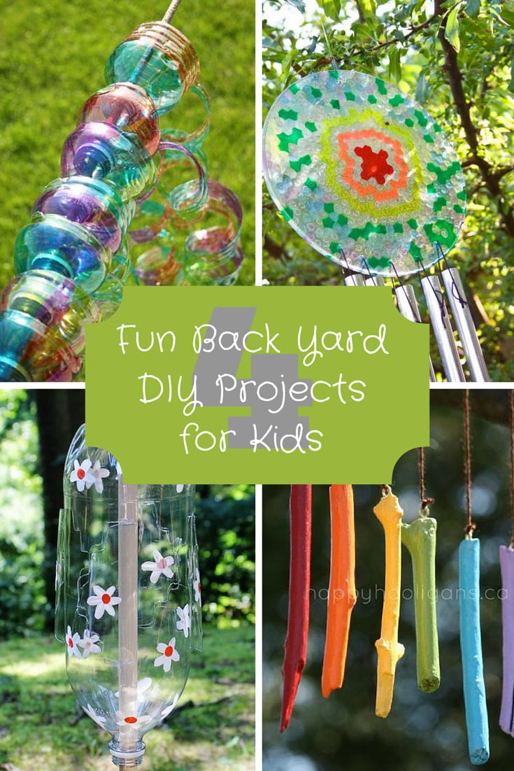 4 fun back yard diy projects for kids fun craft ideas
