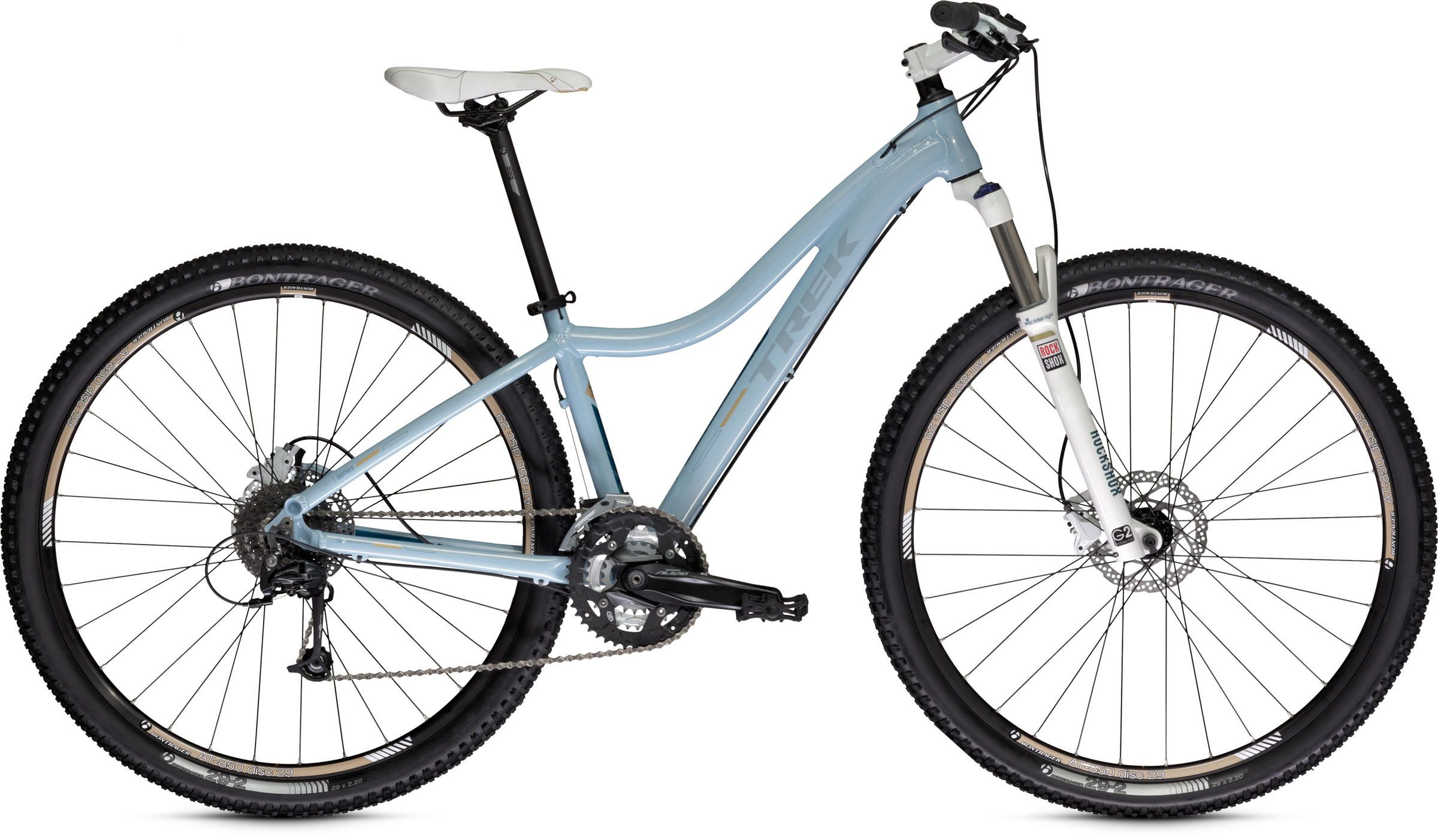 Compare Trek Bikes The Trek Cali S One ride and
