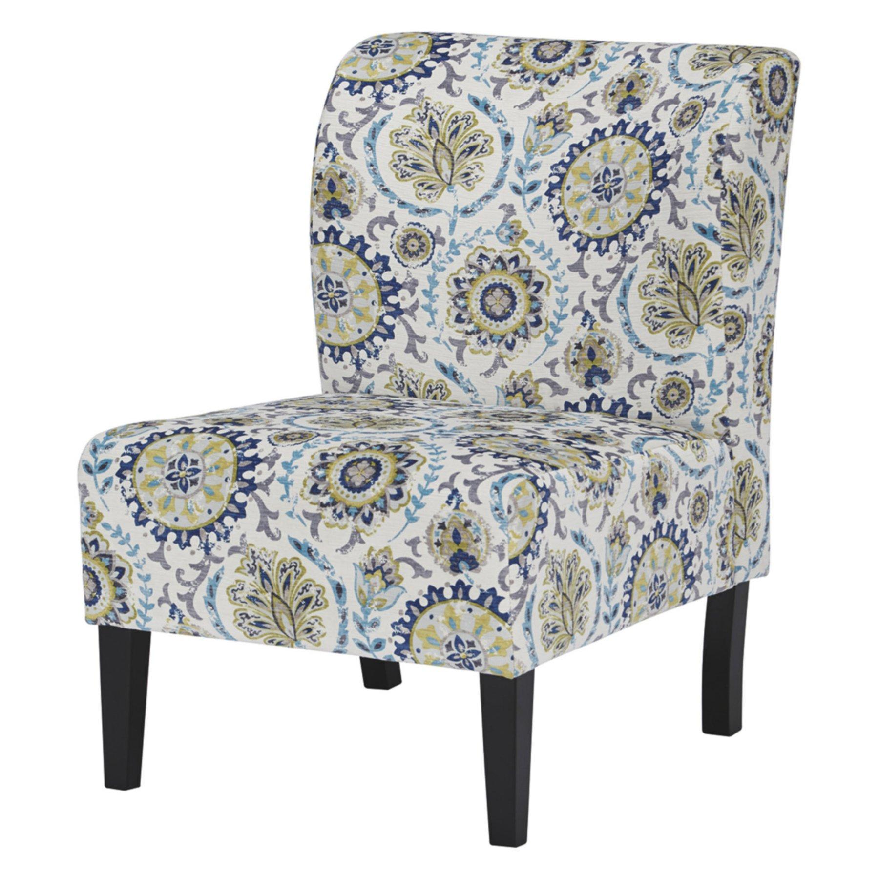 Signature Design By Ashley Triptis Floral Print Accent Chair
