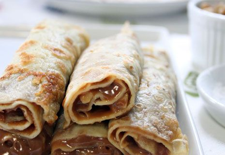 Dulce de leche crepes. My downfall. *drool*