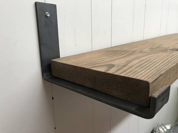 Listing Is For One Bracket Brackets Have Been Tested At 55lbs All Brackets Are Made To Order A Steel Shelf Brackets Shelf Brackets Shelf Brackets Rustic
