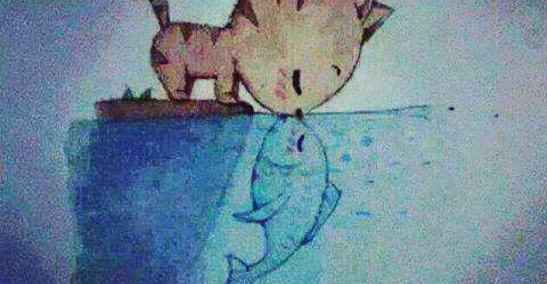 خواطر حزينة جدا تبكي عن الحياة القاسية كتبها شخص بائس Painting Art