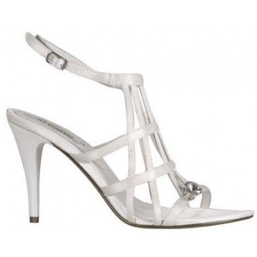 Sandalias de Novia modelo 004181 de Menbur ➡️ #LosZapatosdetuBoda #Boda