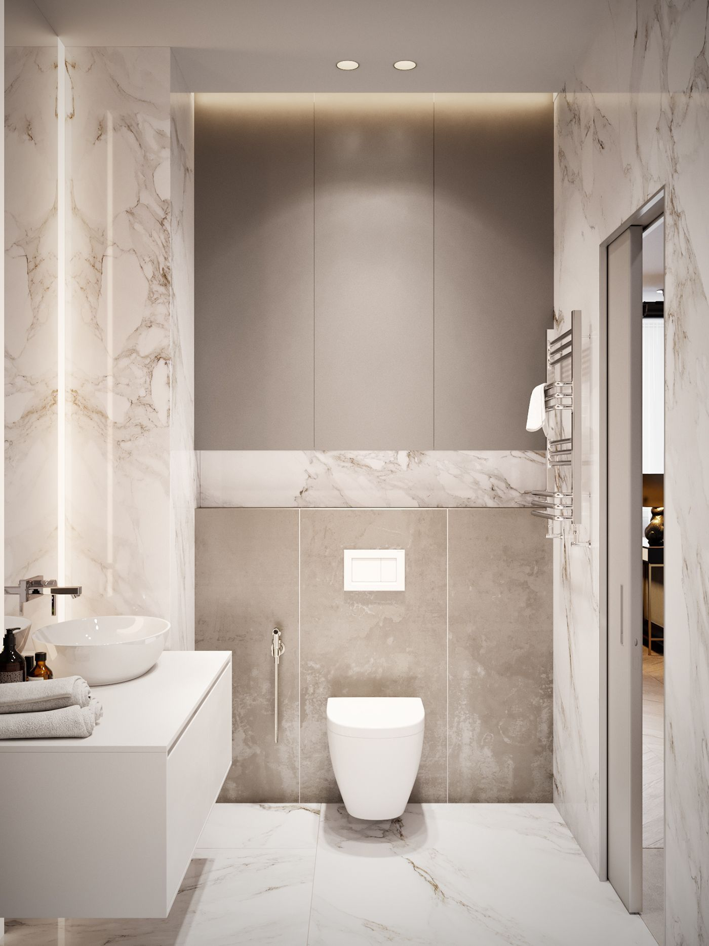 Working On A Bathroom Project We Can Help You With Some Marble Inspirations Discover More A Bathroom Interior Design Modern Bathroom Design Bathroom Interior