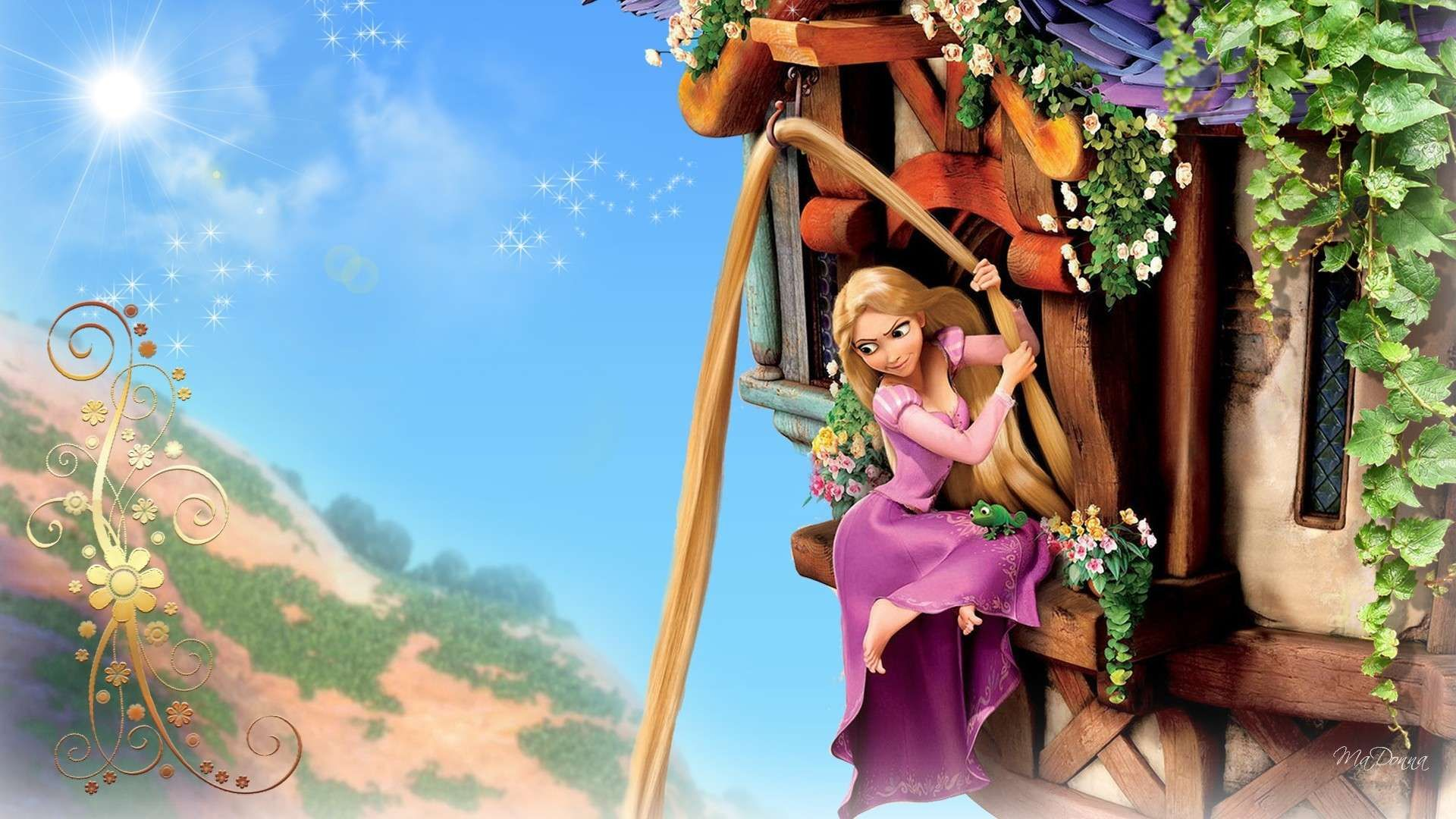 Pin By Hd Wallpapers On Hd Wallpapers Tangled Wallpaper