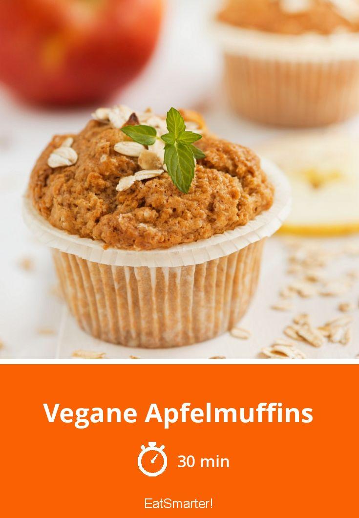 Vegane Apfelmuffins  – Gebäck vegan