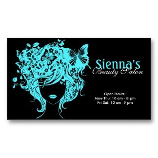 Beauty salon turquoise business card template business card beauty salon turquoise business card template cheaphphosting Choice Image