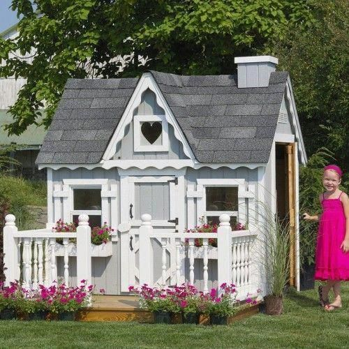 Victorian 4 X 6 Playhouse Backyardplayhouse