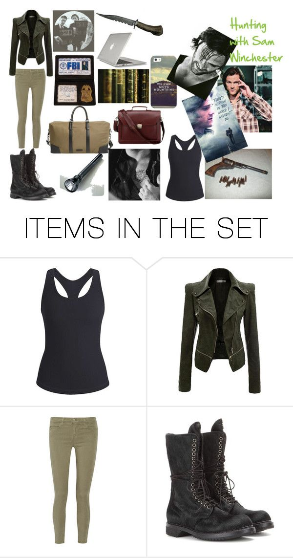 """Hunting With Sam WInchester"" by lexy-hardwick on Polyvore featuring art"