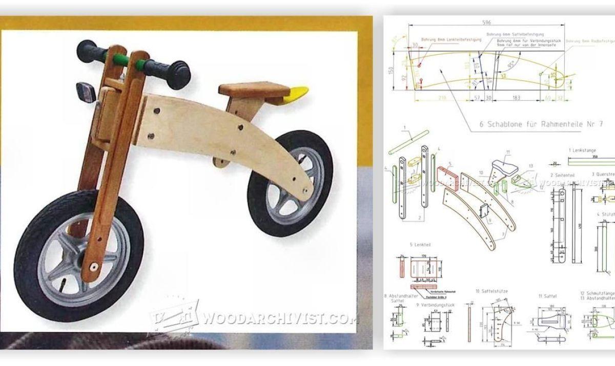 pin on sepeda kayu