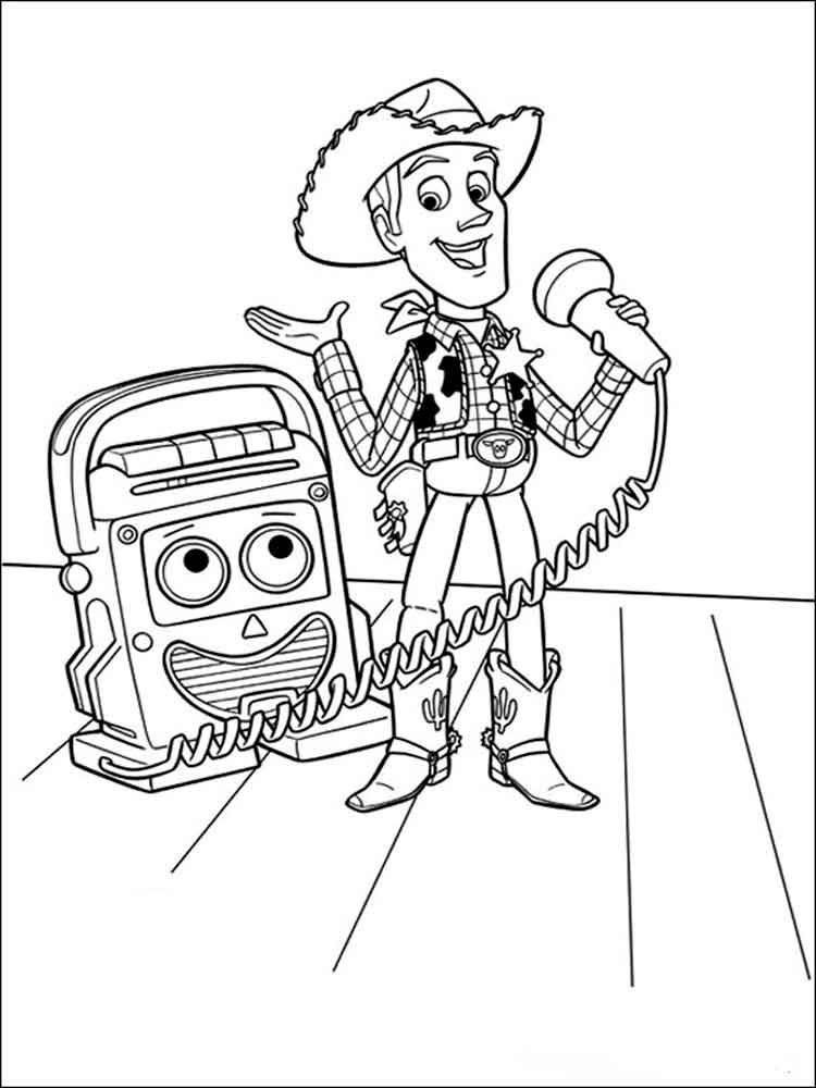 Free Printable Toy Story 4 Coloring Pages And Activities Toy