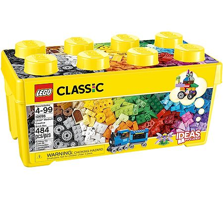 LEGO Classic – Medium Creative Brick Box – Best for Ages 4 to 10