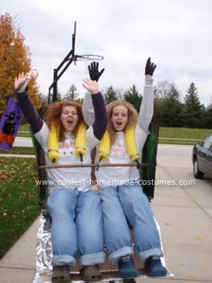 Coolest Homemade Roller Coaster Costume