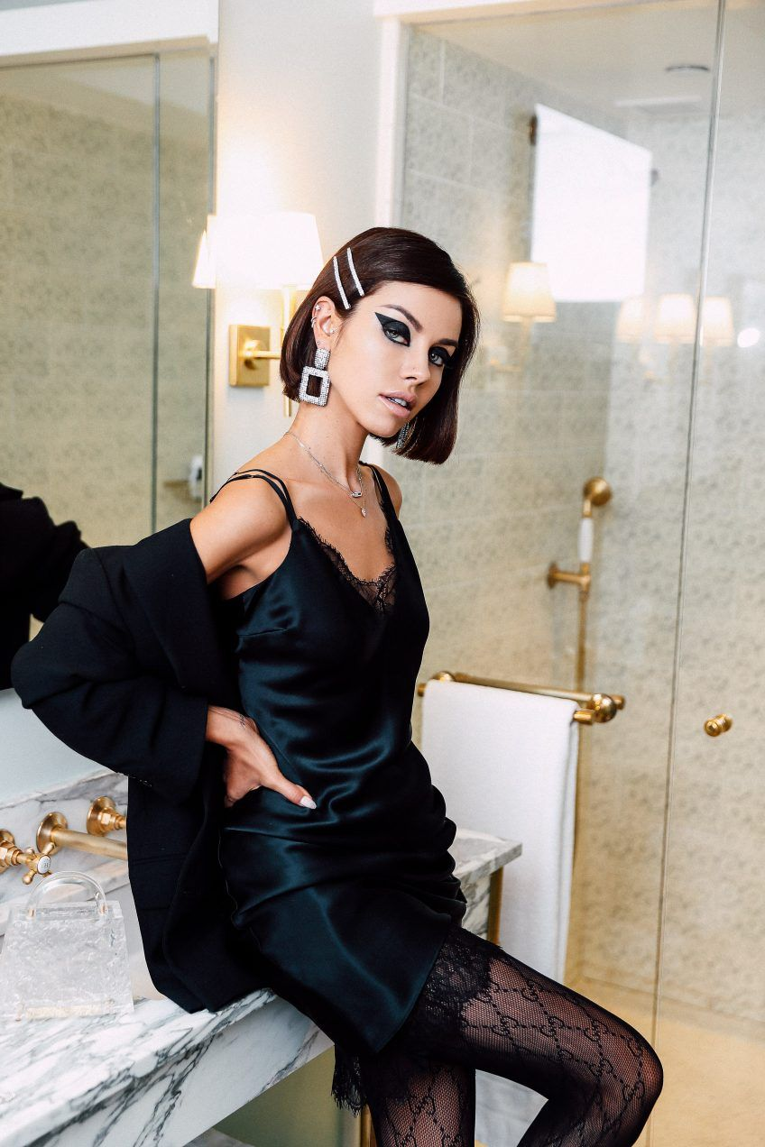 How To Add Instant Glam To Your Holiday Look Vivaluxury Fashion Minimal Fashion Types Of Fashion Styles [ 1272 x 848 Pixel ]