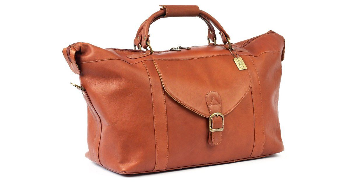 adbf1f9cb Just perfect for a weekend get-a-way. Leather Laramie Duffel, Saddle ...