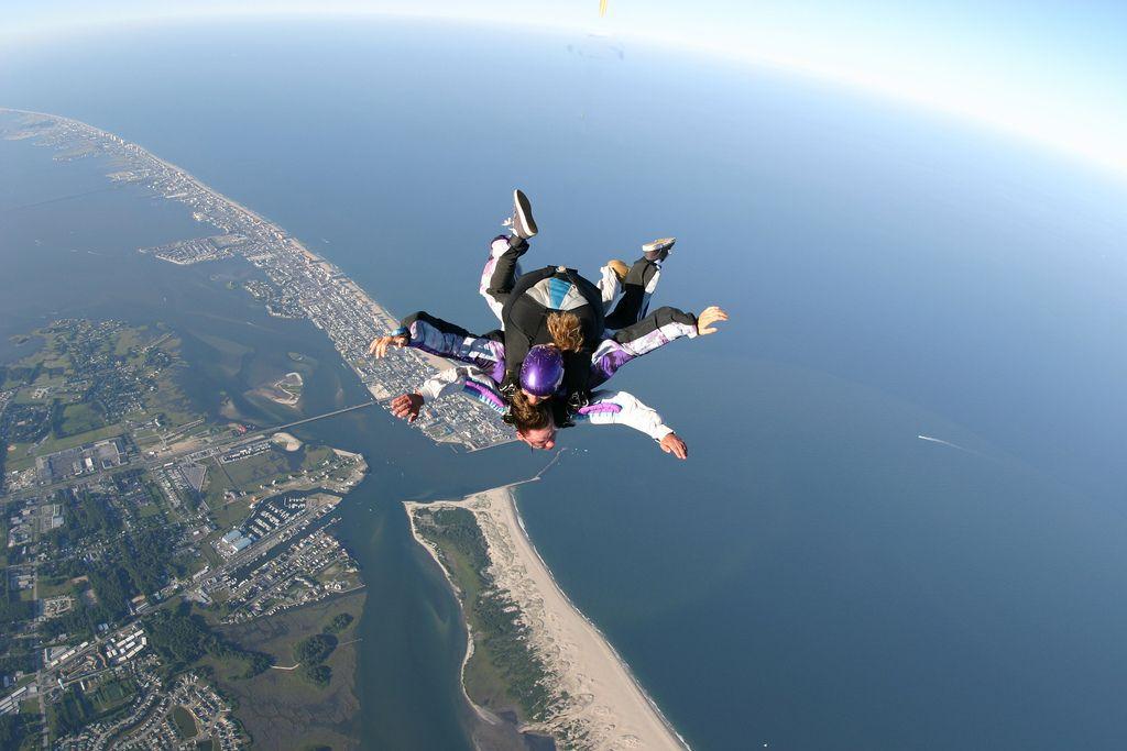 Our View Photos Ocean City Skydiving Center Sky Adventure Ocean City Skydiving