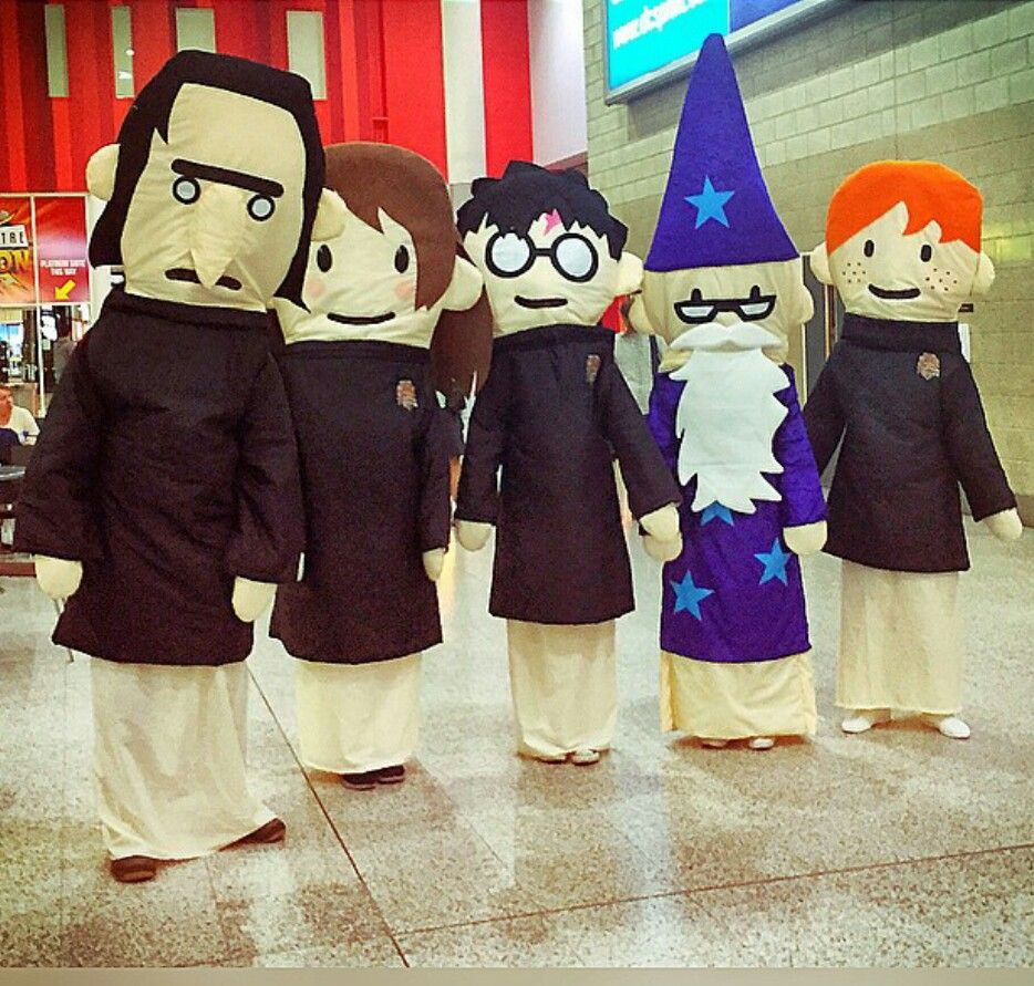 Potter Puppet Pals Costumes Potter Puppet Pals Harry Potter Puppet Pals Comic Con