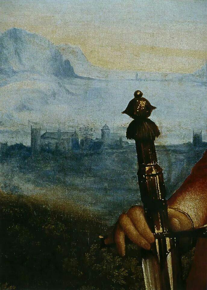 Giorgione, Giuditta, dettaglio