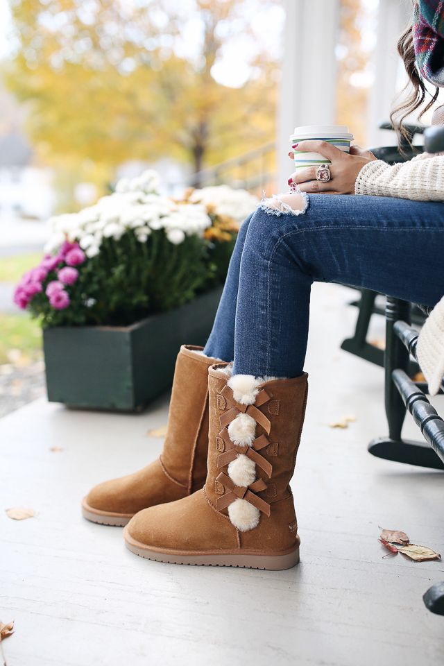 e2a870a3ea7 Comfy Cozy in Vermont | Top Picks for Fall 2016 | Dress with boots ...