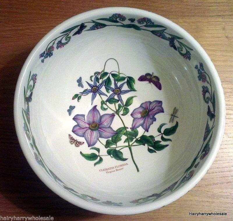 Large Portmeirion Botanic Garden Bowl 26cm Wide x 12cm