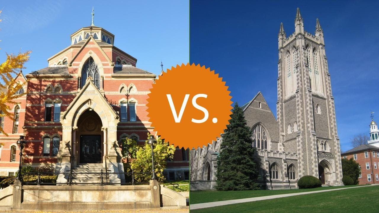 Brown university vs williams college