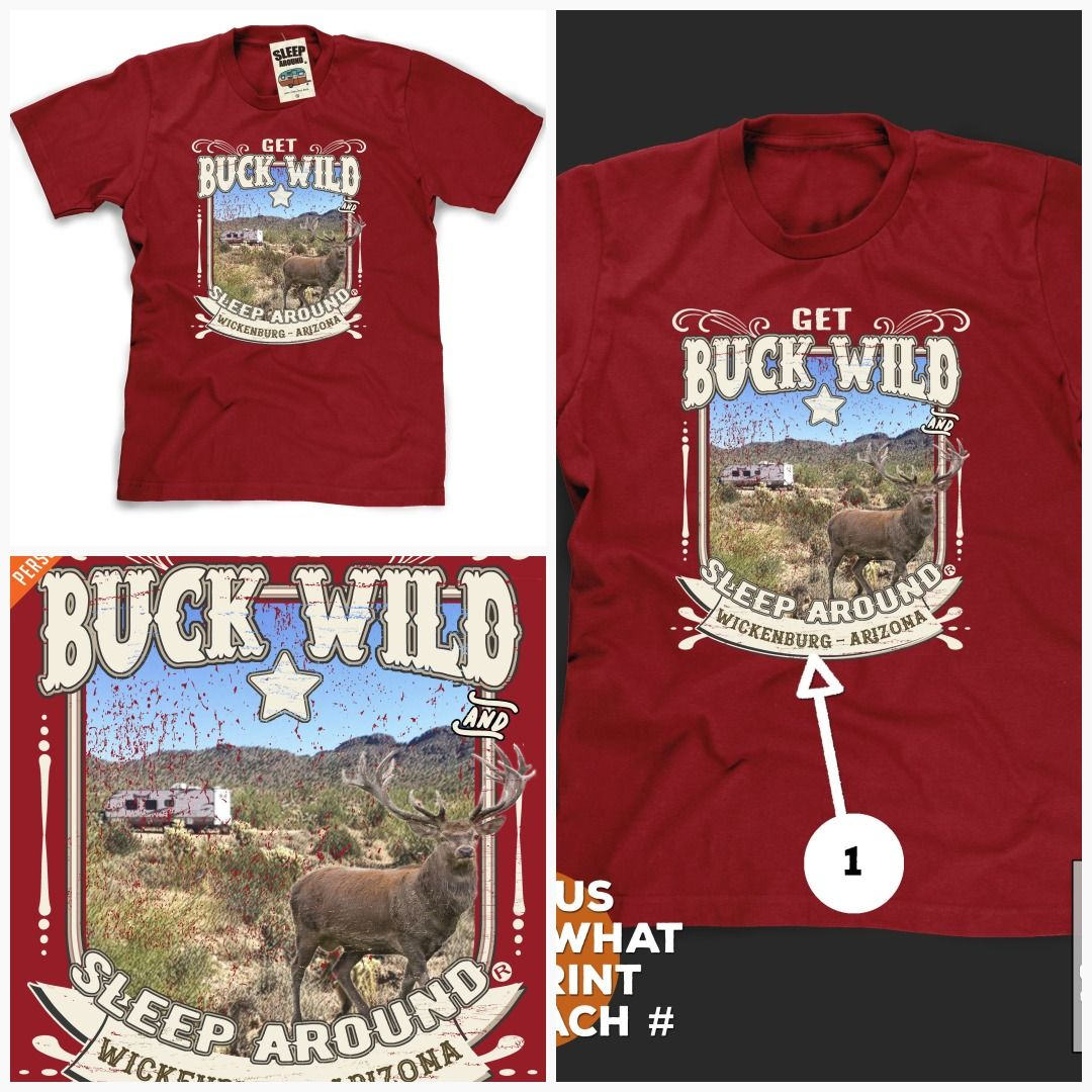 Buck Wild Camping T-Shirt | Wild camp, Camping gifts, Camping