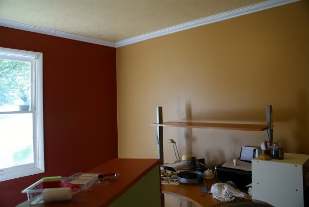 Pumpkin Wall Colors Btw The Walls Are Pumpkin Butter The Accent Is Spicy Cayenne The Home Decor Paint Colors For Home Interior Paint Colors