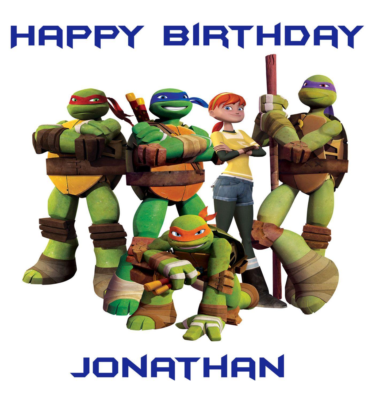 Happy Birthday Teenage Mutant Ninja Turtles Movie Ninja Turtles