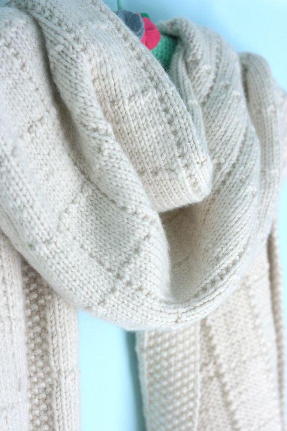 Simple but Elegant Shawl Knitting Pattern by casapinka on Etsy | Fun ...