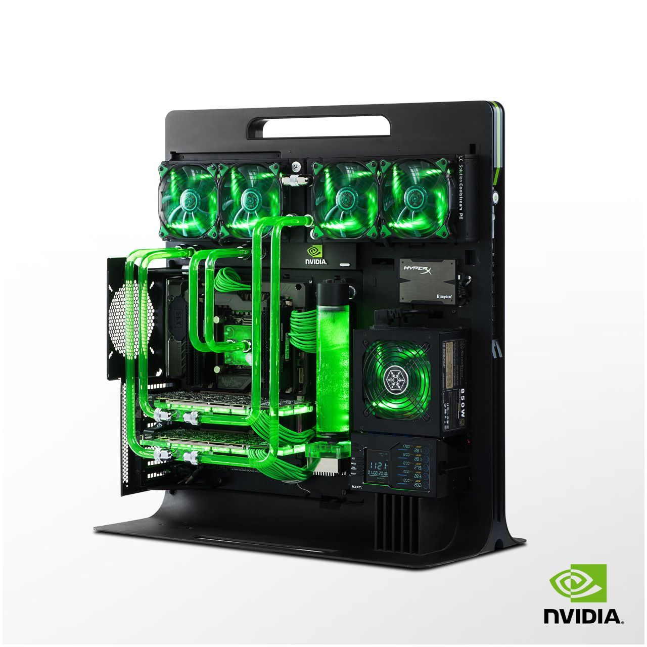 Sweet Mercy This Water Cooled Pc Takes The Thermaltake Level 10