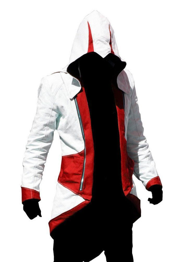 Ericasummit Assassins Creed III Connor Kenway Coat Jacket Hoodie http: