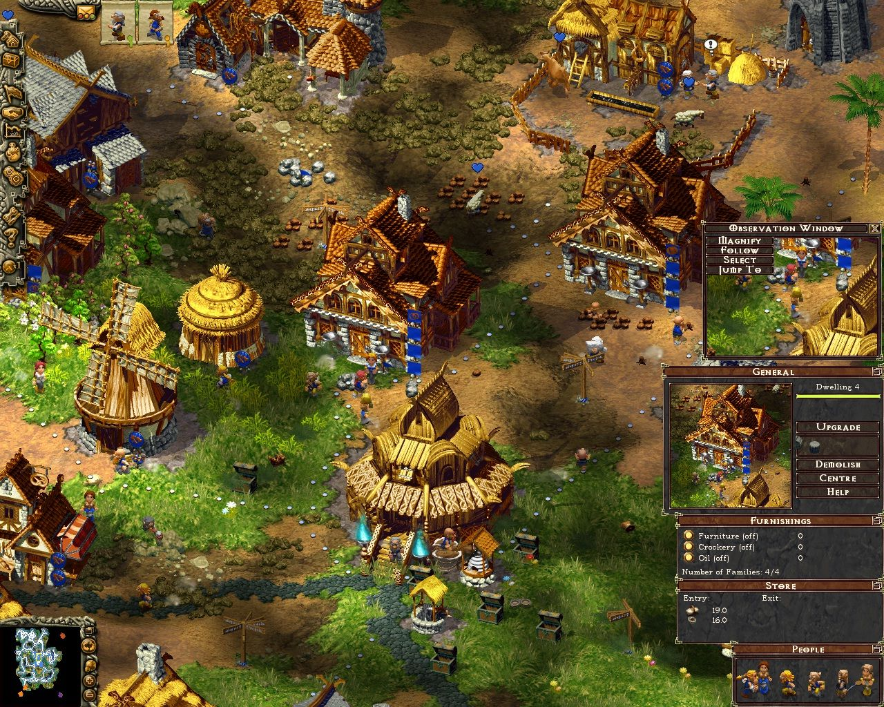 Name Cultures Northland. Type Real Time Strategy (RTS