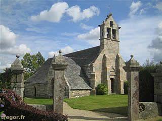 Chapelle Sainte-Geneviève de Guénézan (à Bégard). Bretagne