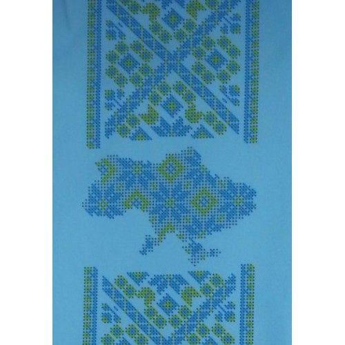 Заготовка чоловічої вишиванки під вишивку - З Україною в серці (DANA-97) габардин, домоткане, ціна, купити по найкращій ціні з…