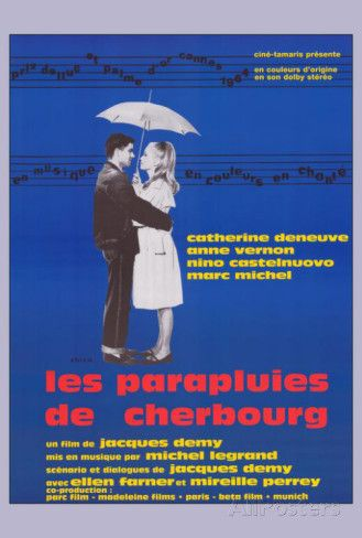 The Umbrellas of Cherbourg - French Style Print at AllPosters.com