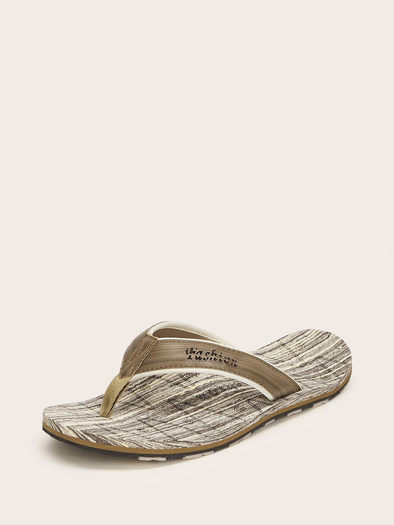 Men Wide Fit Flip Flops #Ad , #ad
