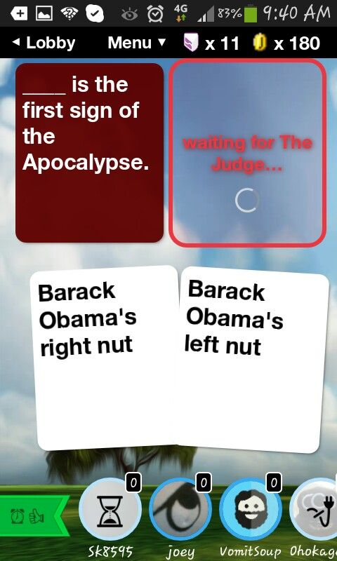 Pin by Tiffany Vasquez on evil apple game Cards against