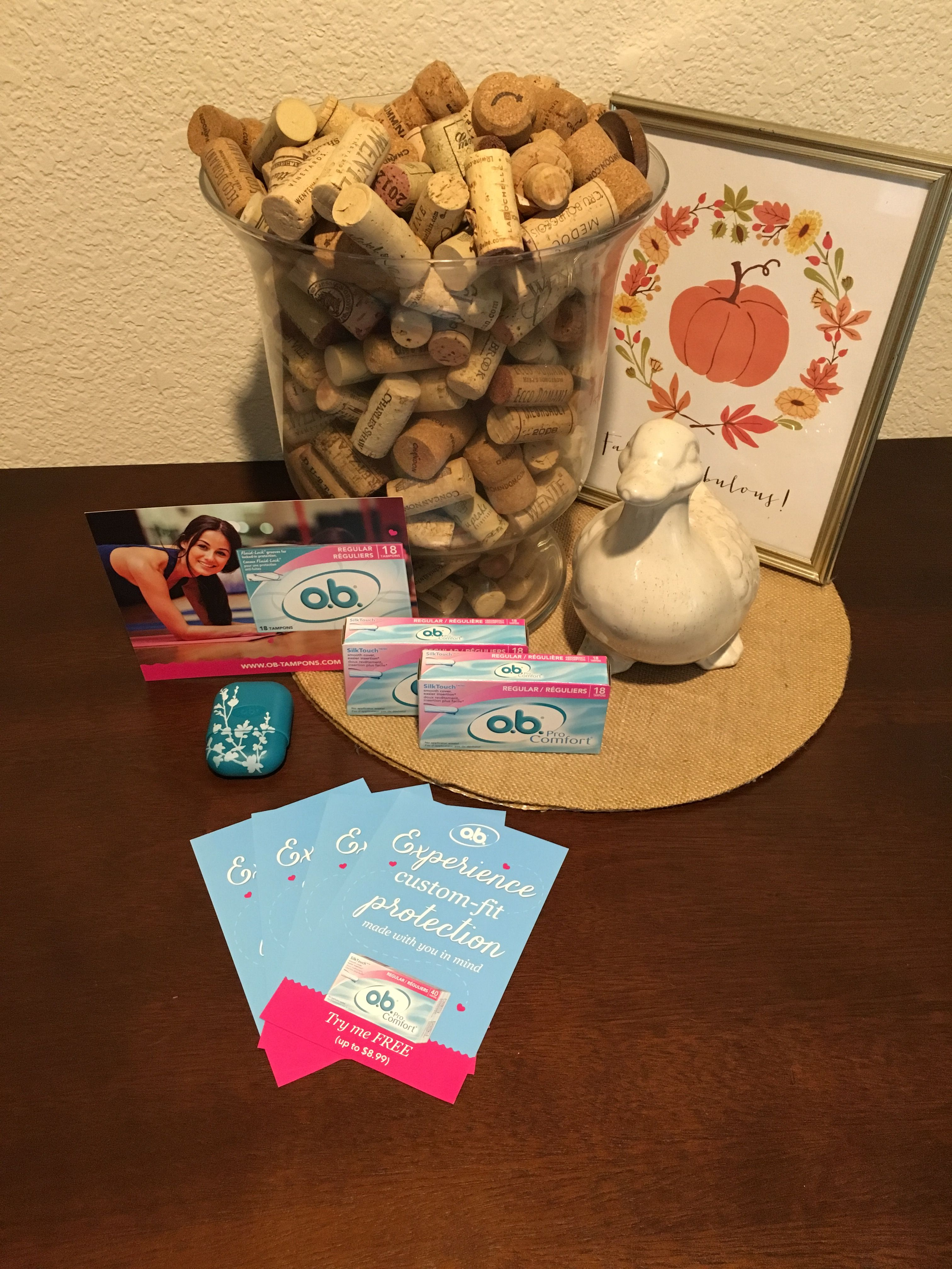 I recently received a complimentary sample of OB Tampons and love