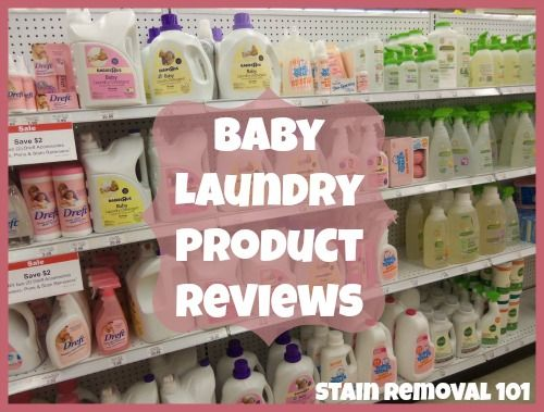 Baby Laundry Detergent Fabric Softeners Stain Remover Reviews