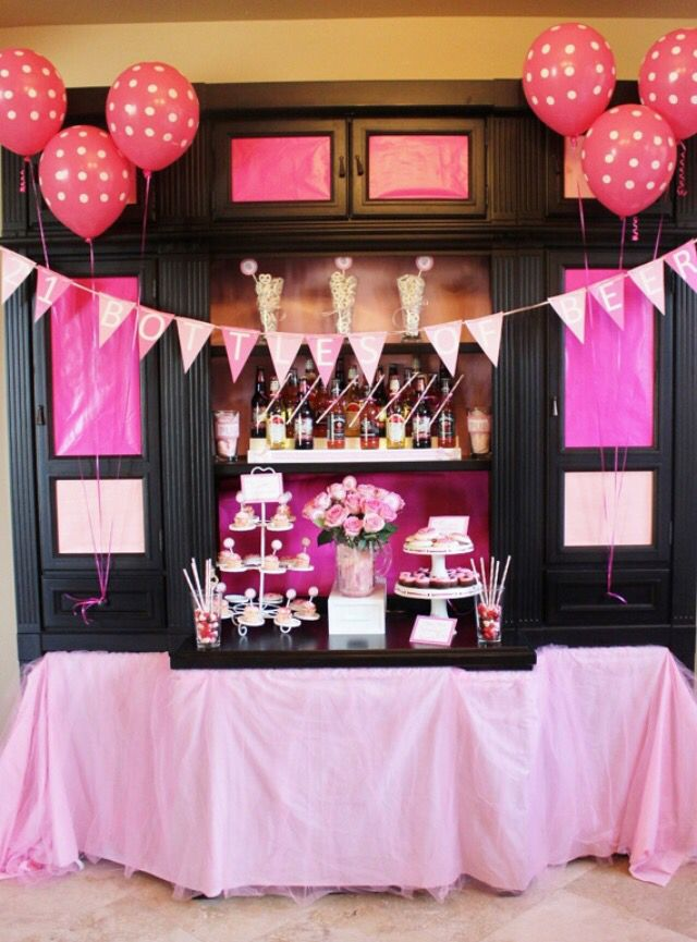 This Is Classy N Cute For A 21st Birthday Decorations