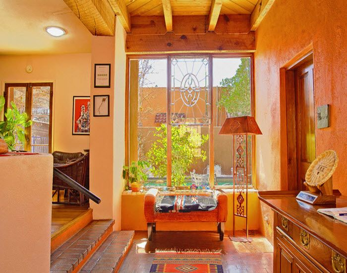 Adobe Rose Inn Bed and Breakfast's beautiful entry way welcomes you to Tucson, Arizona!    Ready for your relaxing B&B getaway?  (Click on the pin when you are ready to check out more into and additional Tucson, AZ area B&Bs)