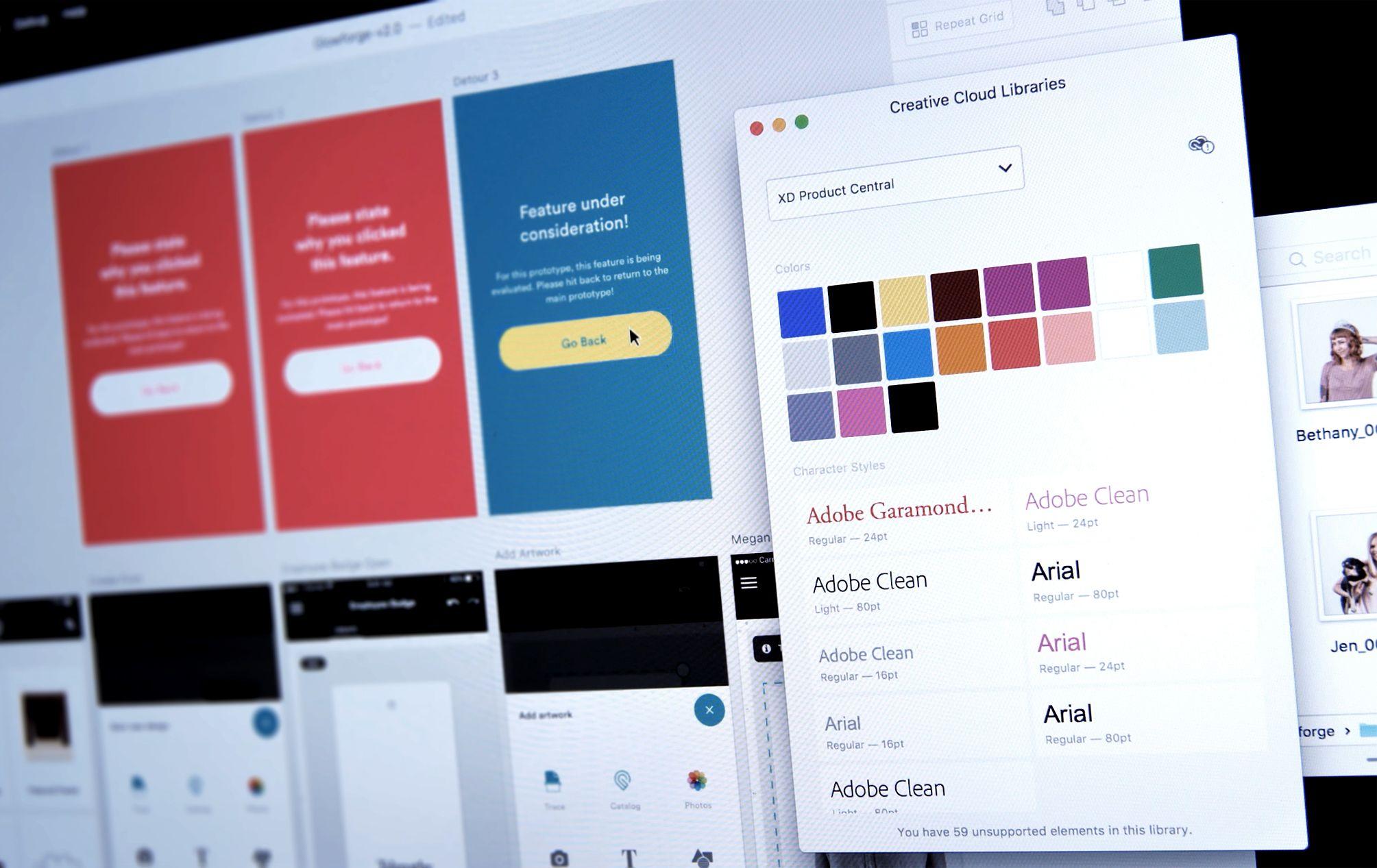 Adobe XD CC para entusiastas de prototipos UX / UI